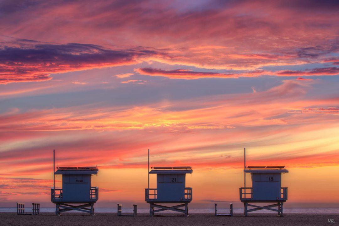 Venice Beach Lifegueard Towers