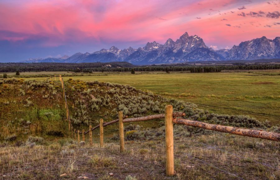 Triangle Ranch, Jakson Hole Wyoming, Grand Tetons